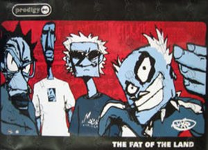 PRODIGY-The-Fat-Of-The-Land-Band-Cartoon-Poster